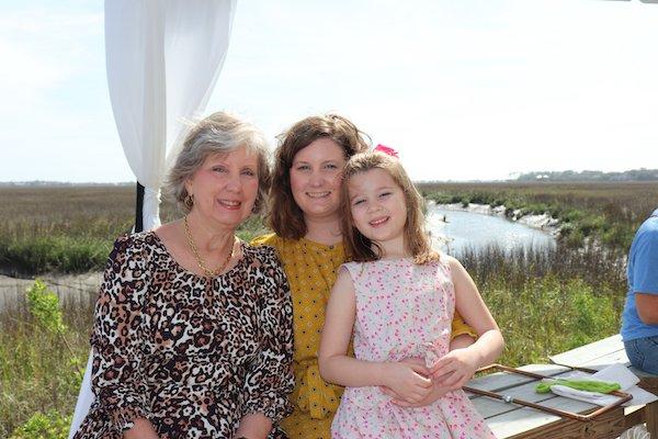Ann, Cate and Piper Culpepper