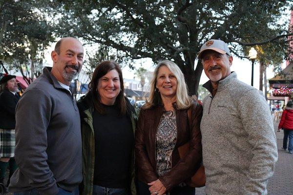 Michael and Liz Cobb, Jerene and Andy Stillwagon