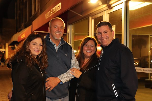 Anne Marie and David Anderson, Tanya and Mike Poillucci