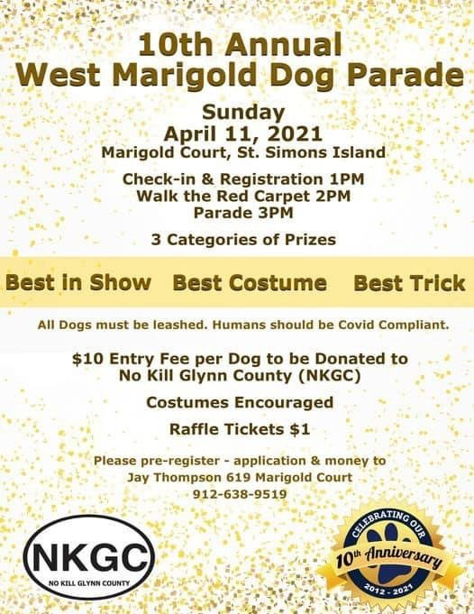 10th Annual West Magnolia Dog Parade