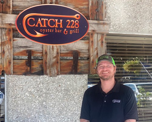 Catch 228 owner Brad Campbell