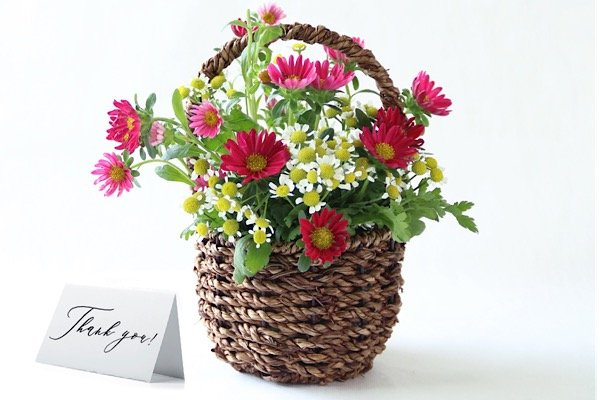 Flowers thank you