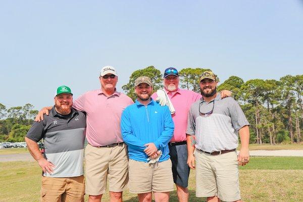 Philip Lyons, Jr, Boone Randall, Ben Jernigan, Mike O'Steen, Gant Highsmith