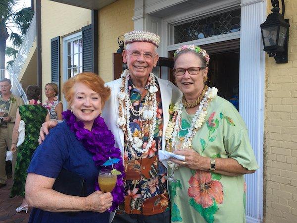 Carol Blackson, Bill and Merry Tipton