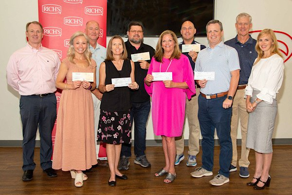 Rich's and DLF Donations Recipients