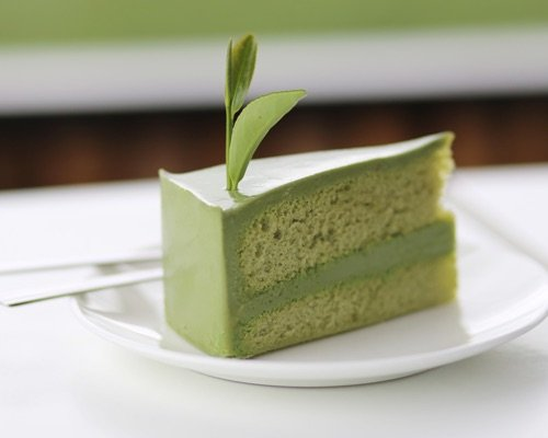 Matcha Green Tea Cake with Buttercream Frosting