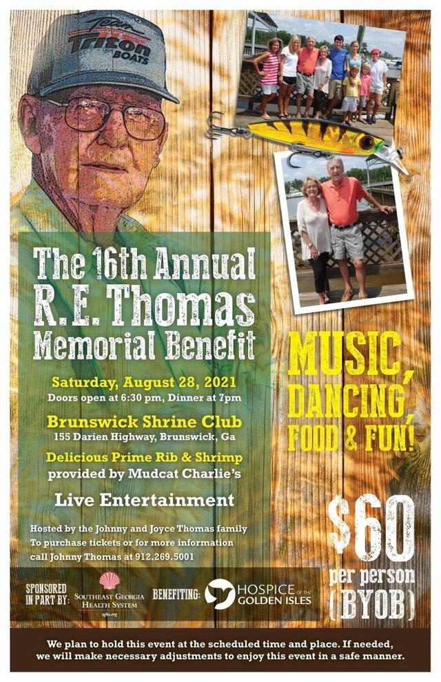 16th Annual RE Thomas Memorial Benefit