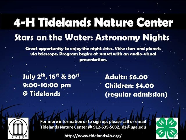 Tidelands Astronomy Nights