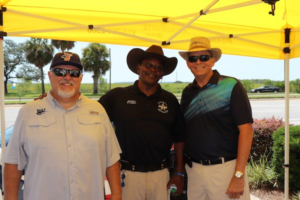 Joe Willie Sousa, Sgt. Randall Lacey, Sheriff Kevin Sproue