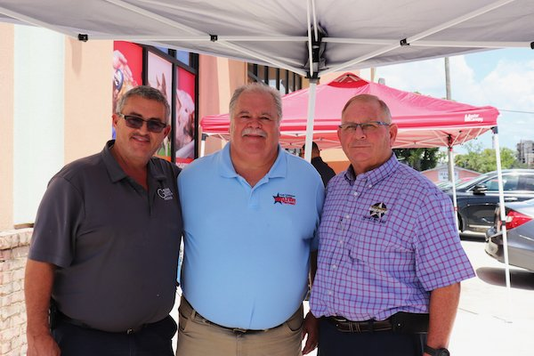 Joey Hale, Walter Rafolski, Sheriff Neal Jump