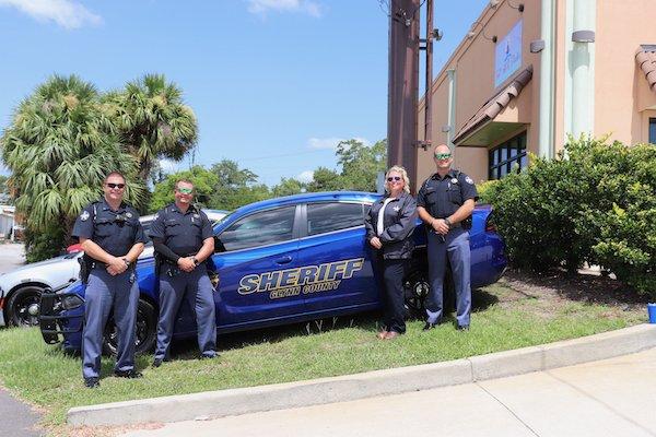 Deputies Seth Pavers, Andrew Blair, Stephanie Britt, Matthew Stansberry