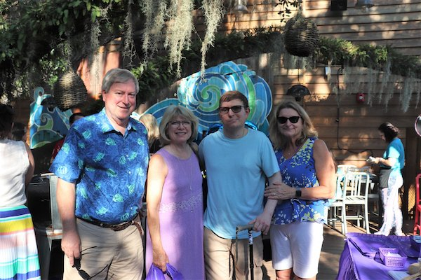 Bruce, Betsy, Bryan, and Joan Barnes