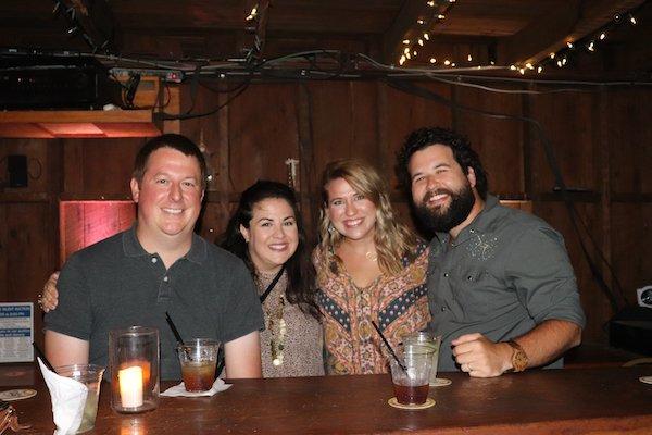 Rob Brown, Jessica Brown, Christina Cooper, Trey Cooper