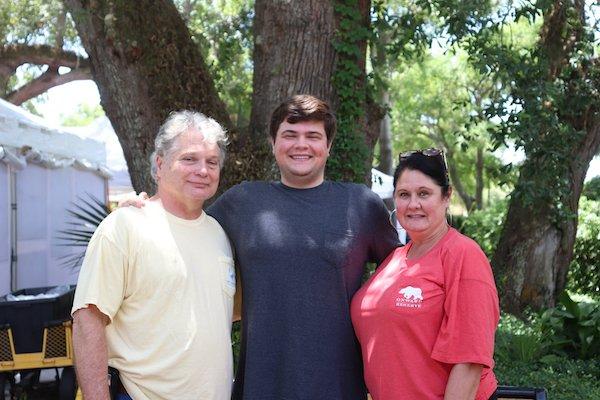 Robert, Hank, Beth Peagler