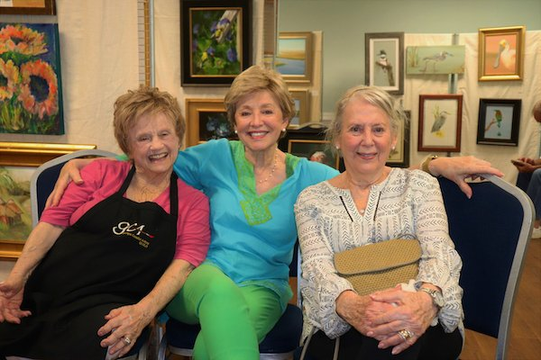 Judy Clifton, Nancy Pandolfi, Carole Cohen