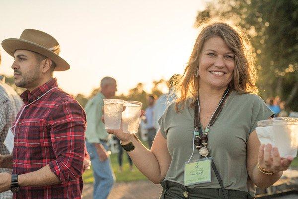 Becca Randall at Hunt Ball 2019