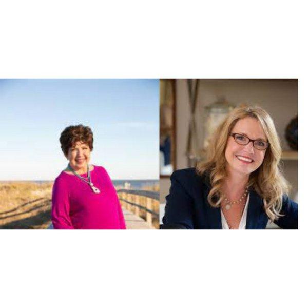 Mary Kay Andrews and Patti Callahan