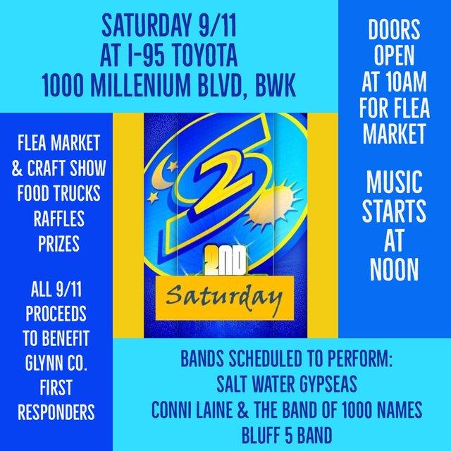 Second Saturday Sept 11