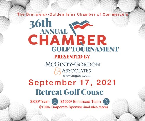 36th Annual Chamber Golf Tournament presented by McGinty Gordon