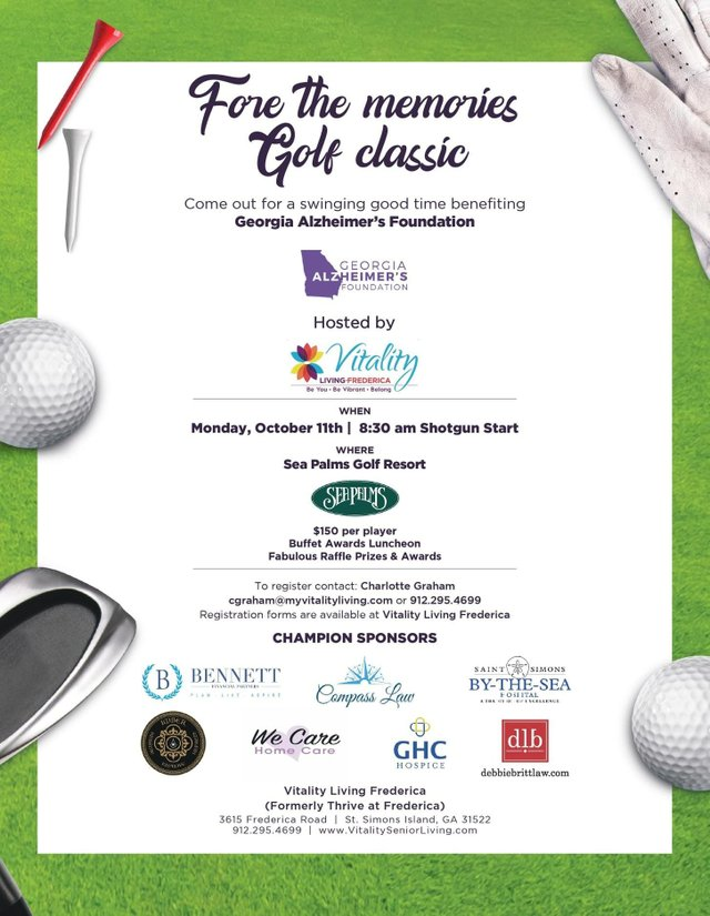 Fore the Memories golf tourney