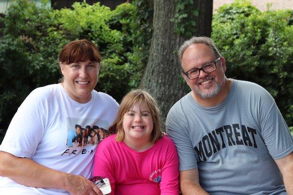 Linda, Amelia, and Mike Vitacco