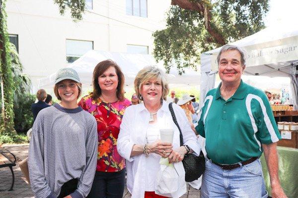 Kathleen Summerlin, Sunday Summerlin, Caroline and Bill Cook