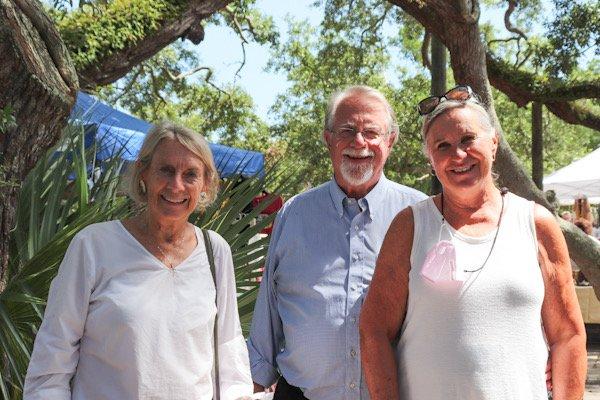 Chris Ernst, Jeff and Deborah Kolb