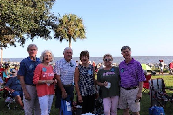 Jim and Debbie Chapman, Everett and Kay Love, Janie and Steve Landis