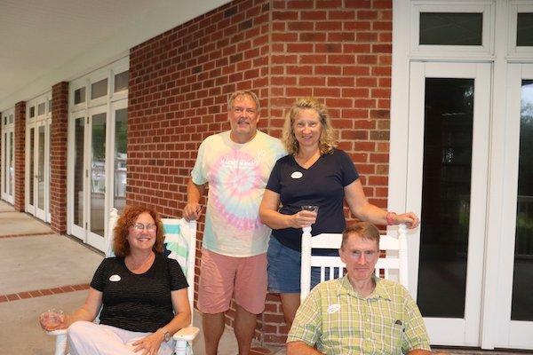 Renee Mulberry, David and Rachel Siedling, Doug Mulberry