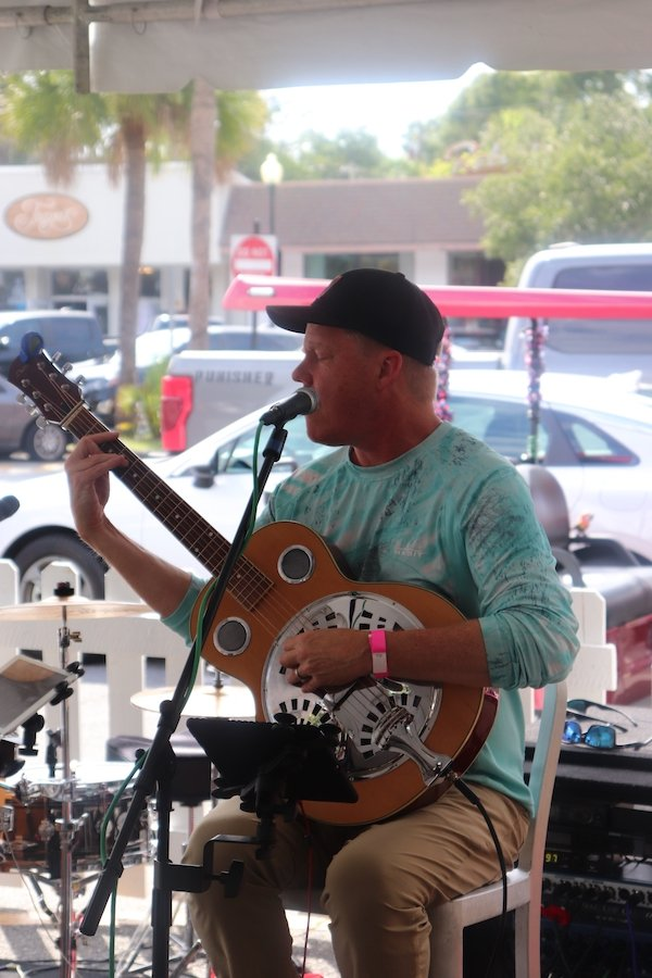 Local band Idle Hands provided the live music