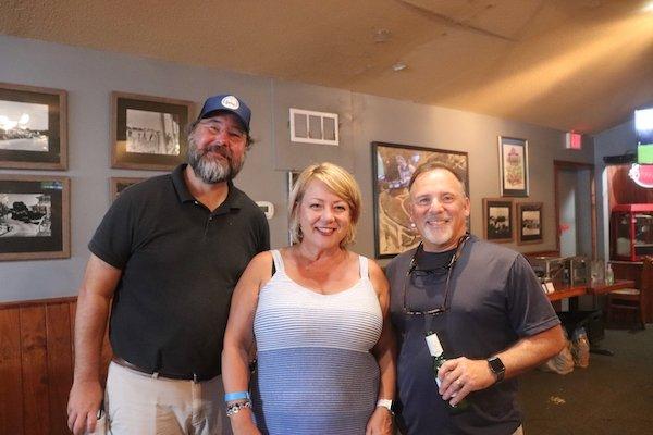 Joey Baldwin, Sonja and Jim Bullard