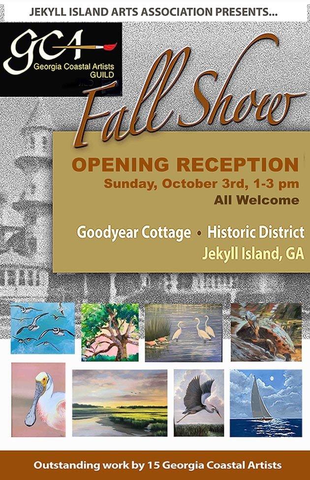 Coastal Artists Guild Fall Show Jekyll