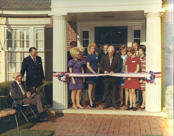Ameris Ribbon Cutting 1971