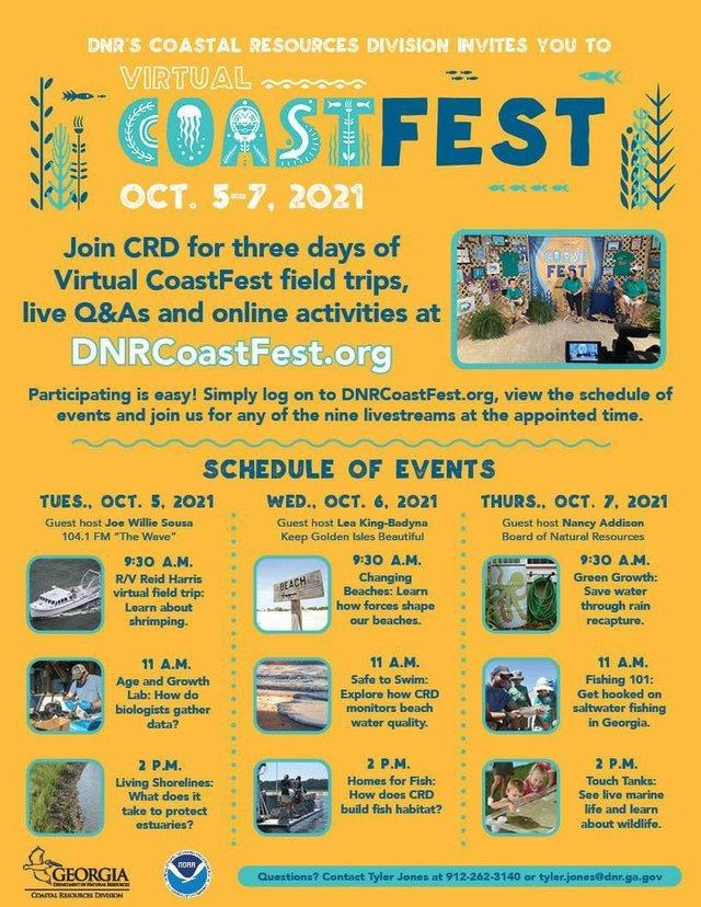 Virtual CoastFest 2021