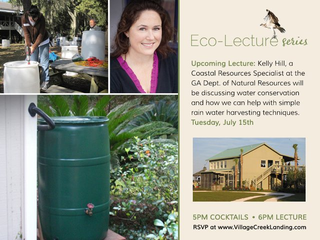 eco lecture on water conservation