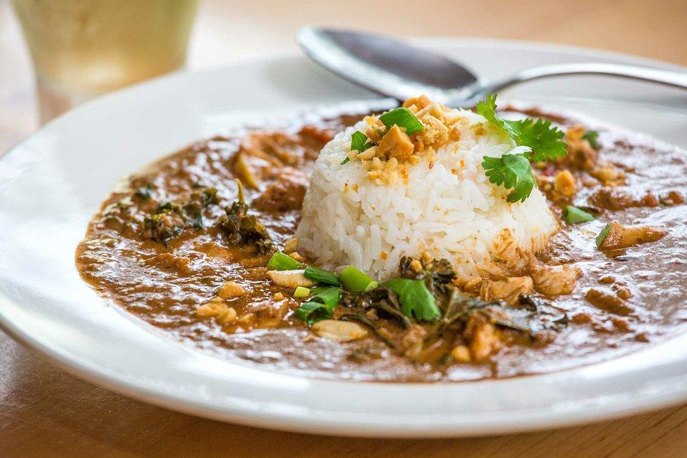 African Chicken & Peanut Stew recipe from Indigo Coastal Shanty ...