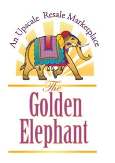 New Golden Elephant Logo