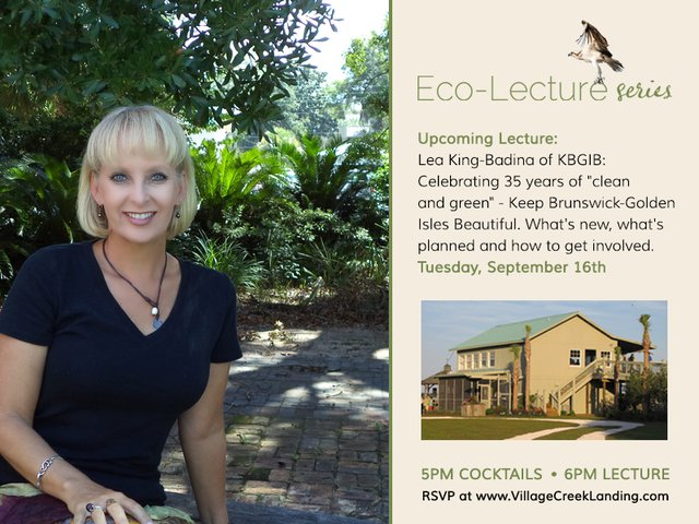 Lea King Badyna Village Creek Ecolecture