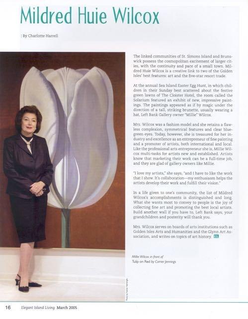EIL profile of Mrs. Wilcox, 2005