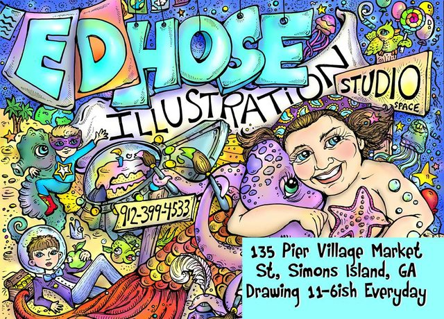 Ed Hose Illustration Studio