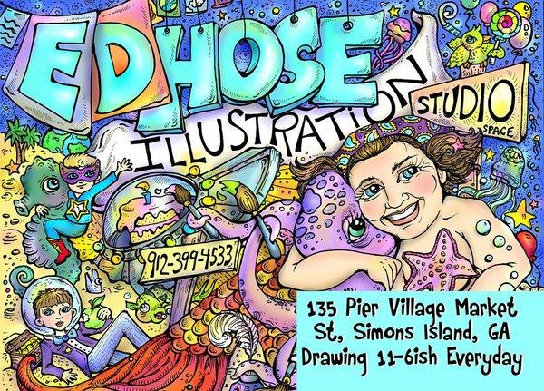 Ed Hose Illustration Studio