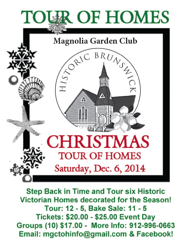 Magnolia Garden Club Christmas Tour of Homes