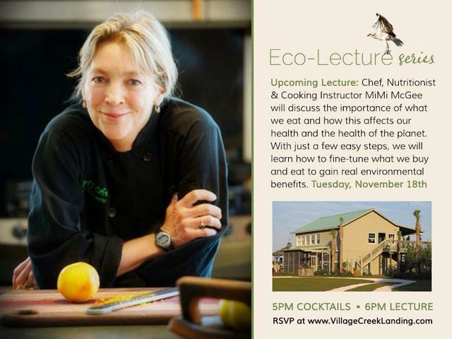 Ecolecture MiMi McGee