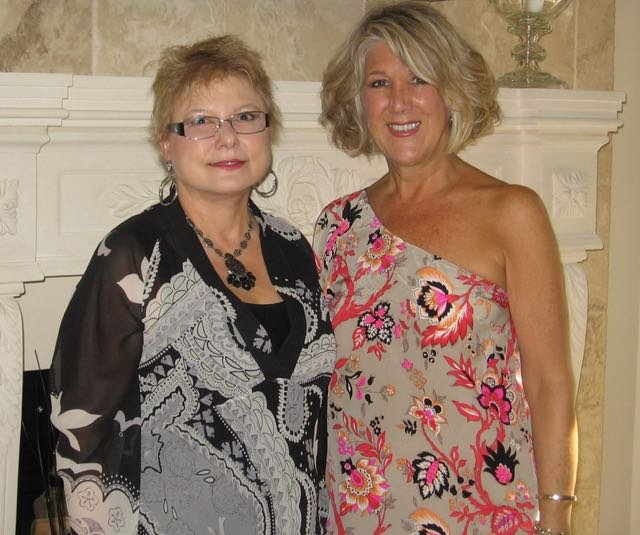 2015 Cabaret co-chairs Beverly Trainor and Mary Griffiths