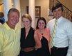 Bart and Meg Barton, Hadley Hayes and Will Mann
