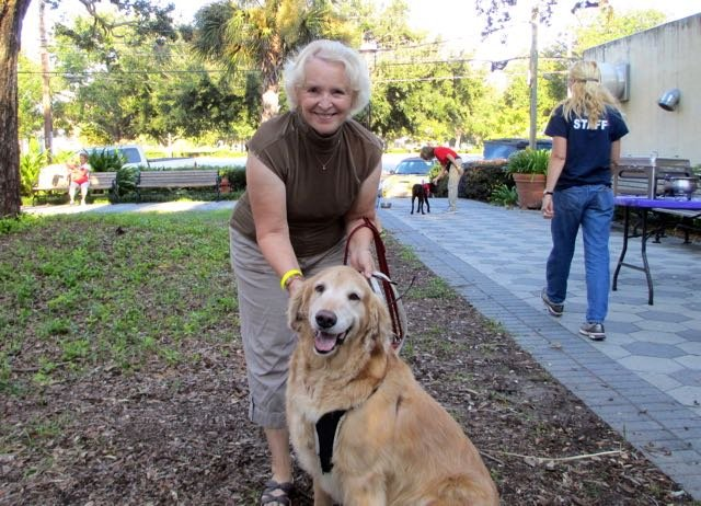 Phyllis Bovenizer and Rocco