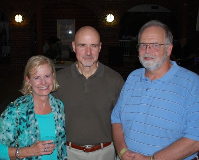 Melanie and Ed Hatcher, John Matthews