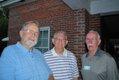 John Matthews, Don Varnadoe, Board Chairman Mike Muldowney