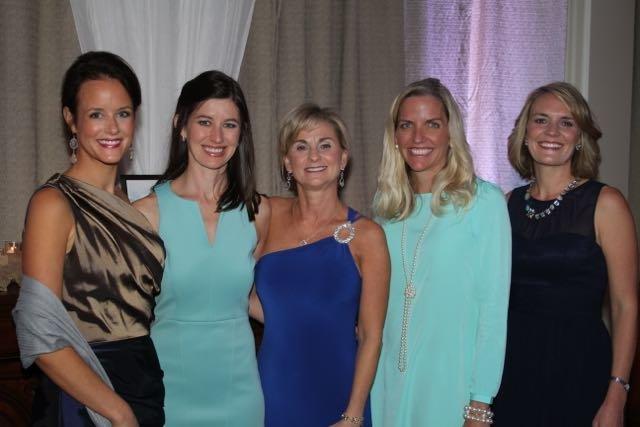 Gala Chairs Caroline Dorminy, Dalee Merrill, Tina Owens, Lori Lambright, Shannon Gilreath