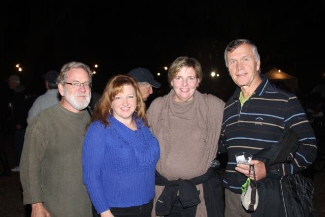 Harlan and Rhonda Hambright, Caroline Thomas and Peter Balint